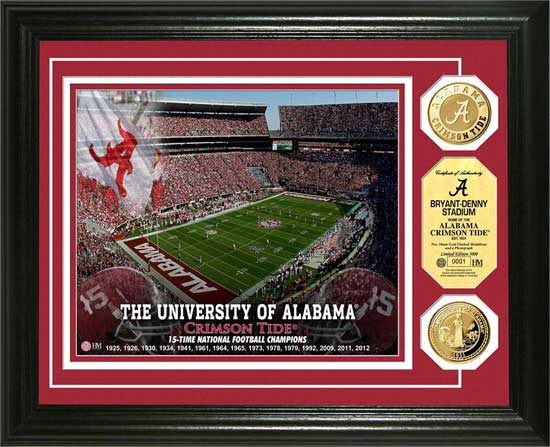 College - Alabama Crimson Tide - Bryant-Denny Stadium - Framed Picture