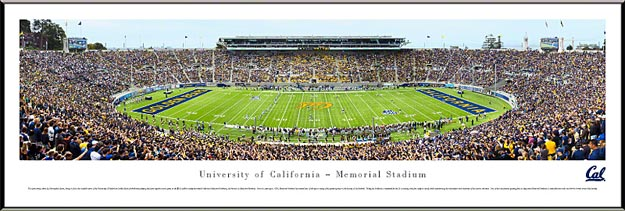 College - California Golden Bears - California Memorial Stadium - Framed Picture