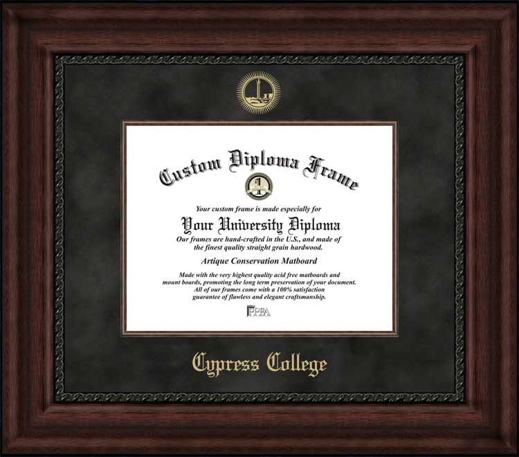 Cypress College Diploma Frames & Certificate Framing | CC Chargers ...