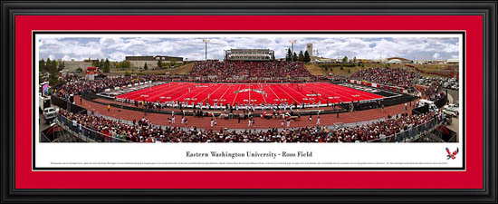 College - Eastern Washington Eagles - Roos Field - Framed Picture