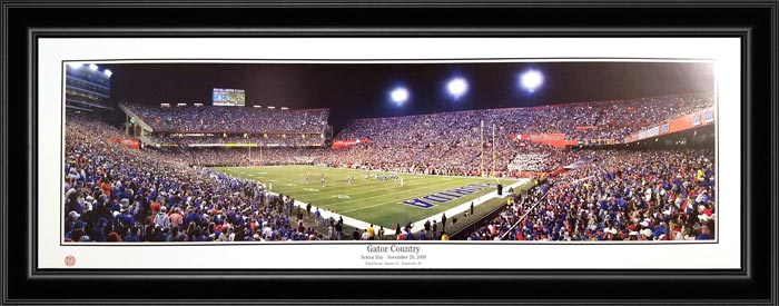 College - Florida Gators - Gator Country - Senior Day - Framed Picture