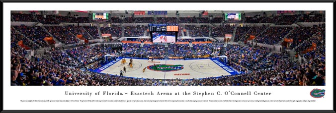 College - Florida Gators - Stephen C O'Connell Center - Framed Picture