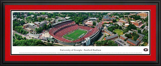 Georgia Bulldogs Poster College Georgia Bulldogs