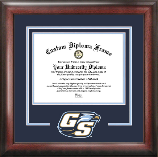 College - Georgia Southern University Eagles - College Mascot - Spirit Mat Cutout - Diploma Frame