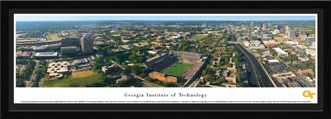 College - Georgia Tech Yellow Jackets - Bobby Dodd Stadium - Framed Picture