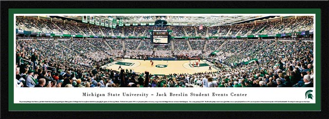 College - Michigan State Spartans - Breslin Student Events Center 2012 - Framed Picture