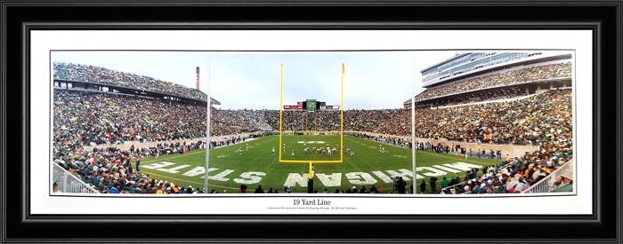 College - Michigan State Spartans - 19 Yard Line - 2006 - Framed Picture