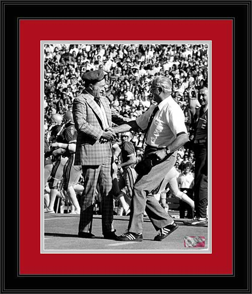 College - Ohio State Buckeyes - Woody Hayes - Bob Hope - Framed Picture