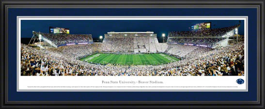 College - Pennsylvania State Nittany Lions - Beaver Stadium - Framed Picture