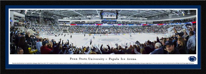 College - Pennsylvania State Nittany Lions - Pegula Ice Arena - Framed Picture