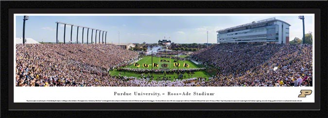College - Purdue Boilermakers - Ross-Ade Stadium - Framed Picture