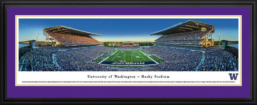 College - Washington Huskies - Husky Stadium - Return to Montlake - Framed Picture