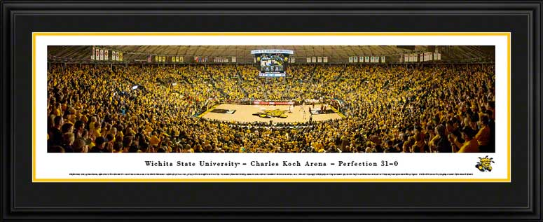College - Wichita State Shockers - Charles Koch Arena - Framed Picture