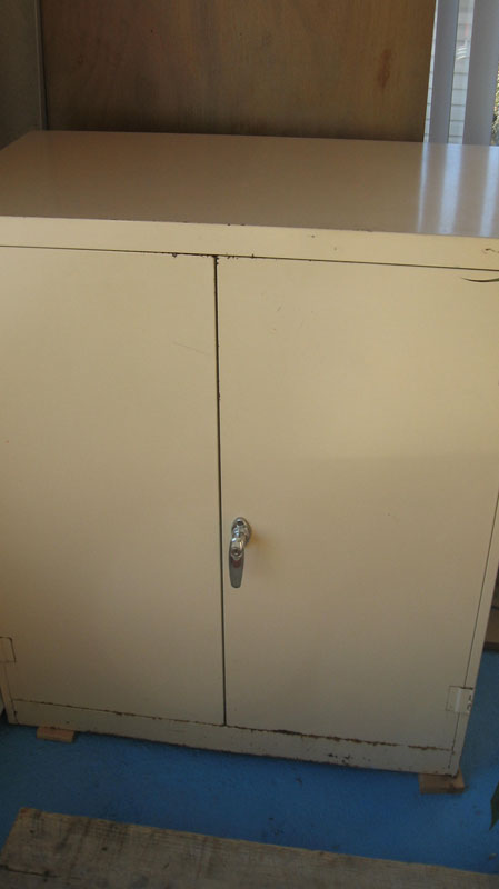 Steel Cabinet with 2 Doors
