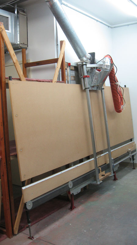 Milwaukee Vertical Panel Saw Model 6480 - Modified