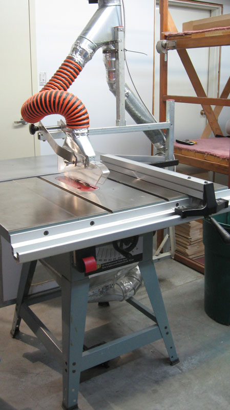 Delta professional 10 inch table saw modified used for 10 inch delta table saw