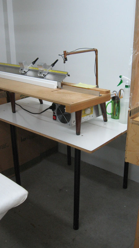 Table for Hot Wire Cutter