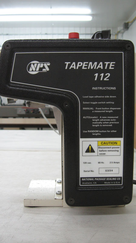 NPS Tapemate 112A with Shear Blade