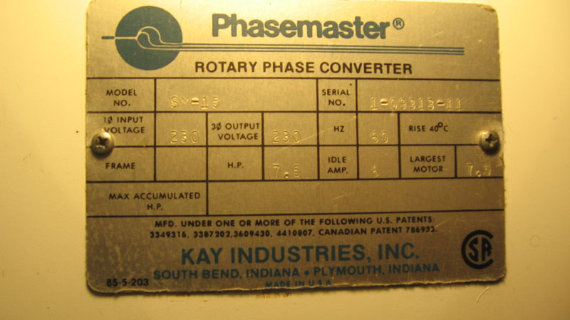 phase converter for sale