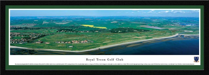Golf - Golf Courses - Royal Troon Golf Club - Framed Picture