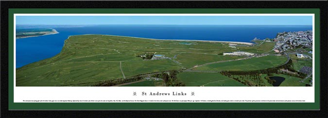 Golf - Golf Courses - St Andrews Links - Framed Picture