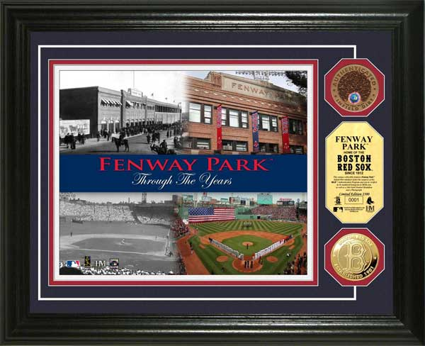 Boston Red Sox Framed Poster Print - Fenway Park - Through The Years ...
