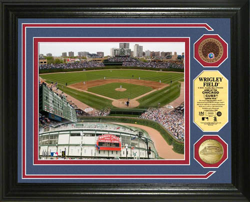 Chicago Cubs - Wrigley Field - Framed Picture Poster, MLB Baseball ...