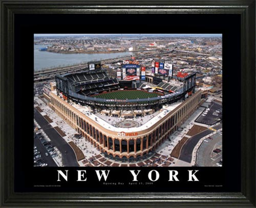 MLB - New York Mets - Citi Field - New Shea Stadium - Lg - Framed Picture