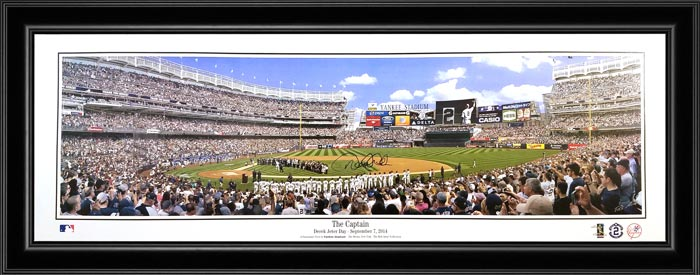 MLB - New York Yankees - The Captain - Derek Jeter - Framed Picture