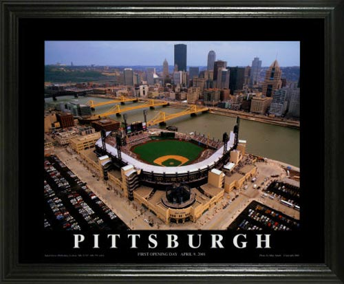MLB - Pittsburgh Pirates - PNC Park Aerial - Lg - Framed Picture