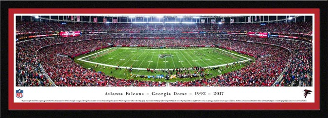 NFL - Atlanta Falcons - Georgia Dome - Framed Picture