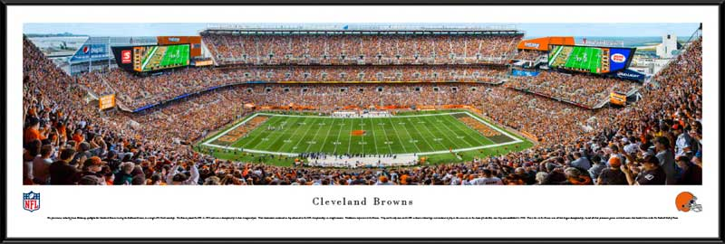 NFL - Cleveland Browns - FirstEnergy Stadium 2014 - Framed Picture