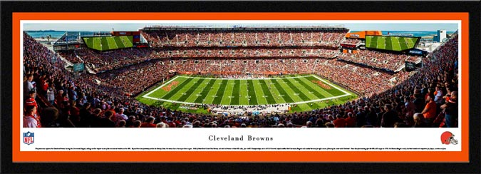NFL - Cleveland Browns - FirstEnergy Stadium - Framed Picture