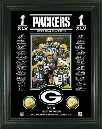 Green Bay Packers Wall Art green bay packers framed poster print - super bowl 45 xlv - etched