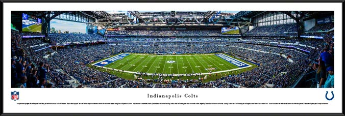 NFL - Indianapolis Colts - Lucas Oil Stadium - Framed Picture
