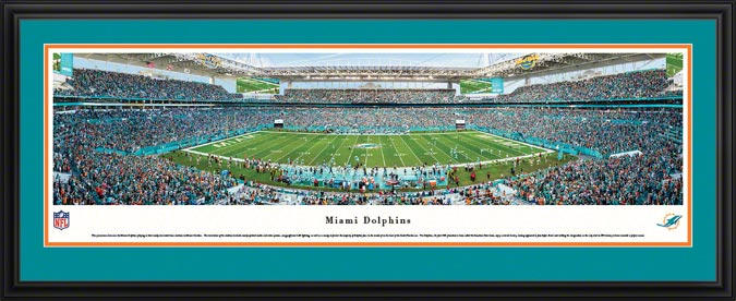 NFL - Miami Dolphins - Hard Rock Stadium - Framed Picture