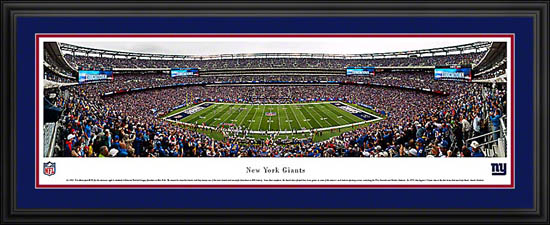 NFL - New York Giants - New Meadowlands Stadium - Framed Picture