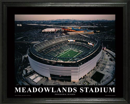 NFL - New York Jets - New Meadowlands Stadium - Lg - Framed Picture