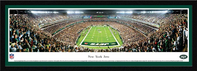 NFL - New York Jets - MetLife Stadium - End Zone - Framed Picture