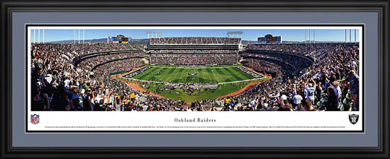 NFL - Oakland Raiders - Oakland-Alameda County Coliseum - Framed Picture