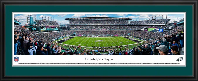 NFL - Philadelphia Eagles - Lincoln Financial Stadium - Framed Picture