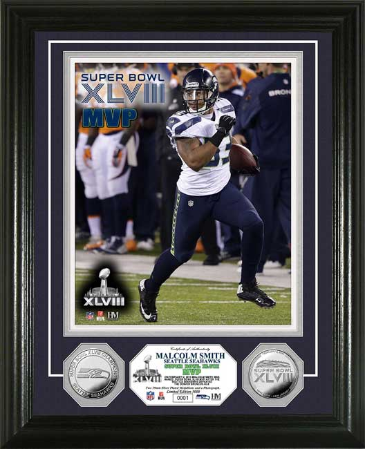 NFL - Seattle Seahawks - Super Bowl 48 XLVIII - MVP Smith - Framed Picture