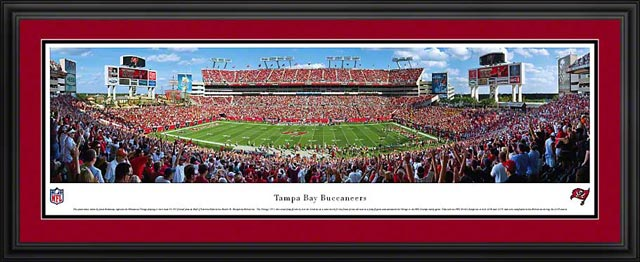 NFL - Tampa Bay Buccaneers - Raymond James Stadium - Framed Picture