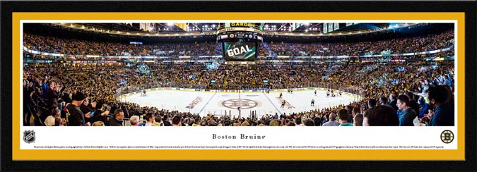 NHL - Boston Bruins - TD Garden - 2015 - Framed Picture
