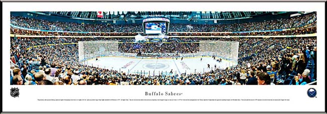 NHL - Buffalo Sabres - First Niagara Center - Framed Picture
