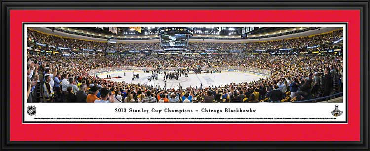 NHL - Chicago Blackhawks - Stanley Cup Champions 2013 - Framed Picture