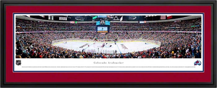 NHL - Colorado Avalanche - Pepsi Center - Framed Picture