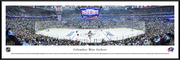 NHL - Columbus Blue Jackets - Nationwide Arena - Playoffs - Framed Picture