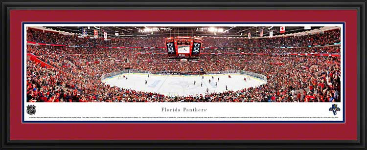 NHL - Florida Panthers - BankAtlantic Center - 2012 Playoffs - Framed Picture