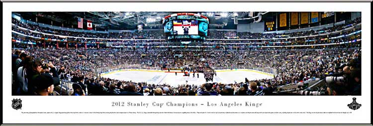 NHL - Los Angeles Kings - Stanley Cup 2012 - Framed Picture